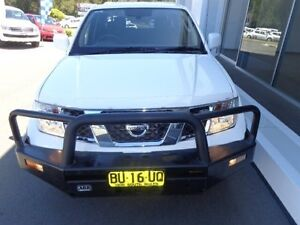 2013 Nissan Navara D40 MY12 RX (4x4) White 6 Speed Manual Dual Cab Chassis Port Macquarie Port Macquarie City Preview