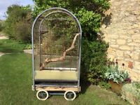 Large Parrot Cage Free to collector
