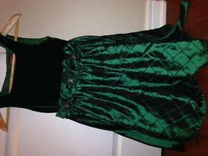 Emerald Green Girls Size 10 Holiday, New Year, Fancy Event Dress