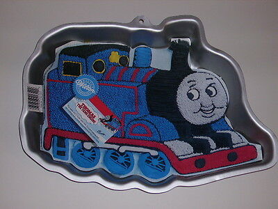 Vtg 1994 Wilton THOMAS THE TANK ENGINE & FRIENDS Train CAKE PAN Mold #2105-1349