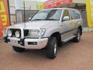 2002 Toyota LandCruiser Automatic Wagon - 8 Seats, Lift Kit Hyde Park Townsville City Preview