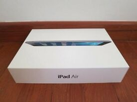 **BRAND NEW** IPAD AIR + 4G, WIFI + CELLULAR (ALL NETWORKS/SIMFREE), 16GB