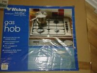 NEW GAS HOB FROM WICKES COST 100 STILL SEALED