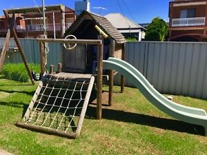 Cubby House, Slide & Swing Set Five Dock Canada Bay Area Preview