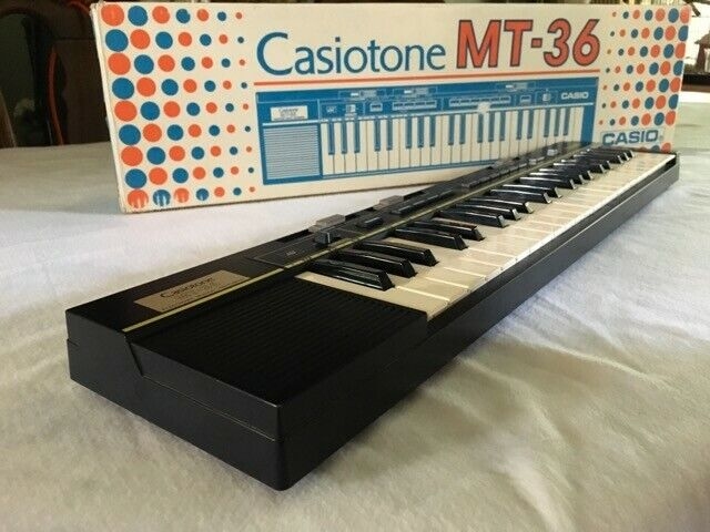 Casiotone MT-36 Electric Keyboard Vintage With Box