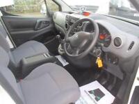 Peugeot Partner L1 850 S 1.6 Hdi 92PS Van DIESEL MANUAL WHITE (2015)