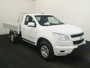 2014 Holden Colorado RG MY15 LS (4x4) White 6 Speed Manual Cab Chassis Salisbury Plain Salisbury Area Preview