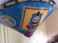Thomas the Tank Engine uplighter shade! Excellent condition :-)