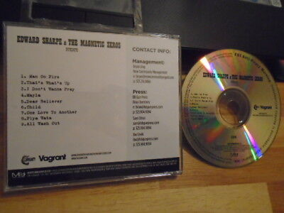 RARE ADVANCE PROMO Edward Sharpe & The Magnetic Zeros CD Here IMA ROBOT The