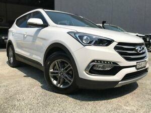 2016 Hyundai Santa Fe DM3 MY16 Active White 6 Speed Sports Automatic Wagon Arundel Gold Coast City Preview