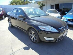 2008 Ford Mondeo MA TDCi Black 6 Speed Sports Automatic Hatchback Bayswater Bayswater Area Preview