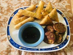 Ramazan Catering Pickering: Shammi Kabbab, Samosa, Rolls (Halal)
