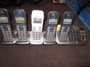 6 Panasonic or Vtech Home Phone Sets with Bluetooth/Link-to-Cell
