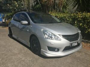 2013 Nissan Pulsar C12 SSS Silver 6 Speed Manual Hatchback Bowen Hills Brisbane North East Preview