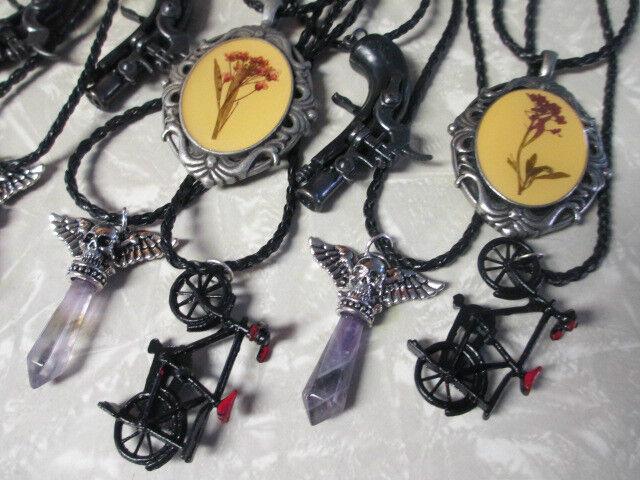 Necklaces lot of 12 Pendants WHOLESALE NEW NWT Unique Eclectic Boutique Resale