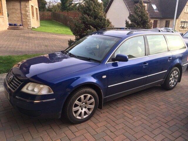 2003 Volkswagen Passat Estate 1.9 TDI - Mot June2018 With No Advisories