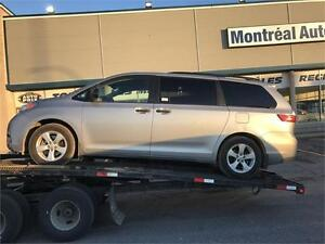 2015 Toyota Sienna-FULL-AUTOMATIQUE-MAGS-7PASSAGERS