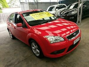 2008 Ford Focus LT TDCi Red 6 Speed Manual Hatchback Five Dock Canada Bay Area Preview