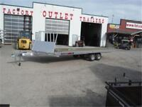8.5 x 24 *4-Place* Drive-On/Drive-Off Sled Trailer! TAX IN PRICE