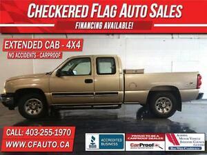 2006 Chevrolet Silverado 1500 E/CAB 4x4-GREAT TIRES-NO ACCIDENTS