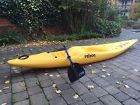 Prijon Twister Sit On Top Kayak with Oars and Lifejacket