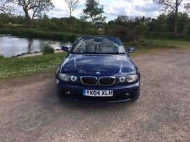 BMW 325CI CONVERTIBLE 2004 BLUE