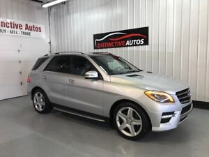2015 Mercedes-Benz ML350 BlueTEC DIESEL/AMG/360 CAM/NAVIGATION M