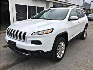 2014 Jeep Cherokee Limited -Panoramic Sunroof- NAVI -Back up Cam