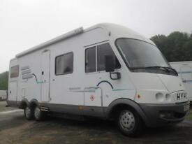 HYMER B694 REAR FIXED BED, LARGE REAR GARAGE, FIVE BERTH ## SALE AGREED ##