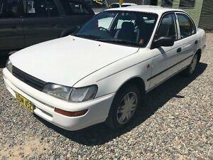 1996 Toyota Corolla AE102R Conquest White Automatic Sedan Jewells Lake Macquarie Area Preview