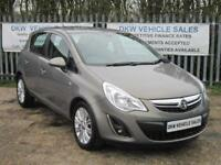 VAUXHALL CORSA 1.2 16V 5DR SE 2012 (12) ONLY 53K FSH / HALF LEATHER HEATED SEATS