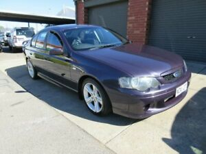 2004 Ford Falcon BA MkII XR6 Purple 4 Speed Auto Seq Sportshift Sedan Gilles Plains Port Adelaide Area Preview