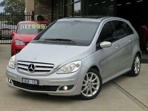 2006 Mercedes-Benz B200 245 Silver Ash 7 Speed Continuous Variable Hatchback Seaford Frankston Area Preview