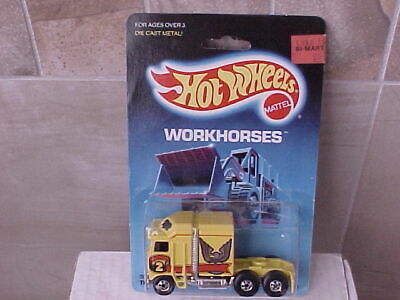 Hot Wheels 1986 Workhorses Thunder Roller #3924
