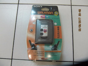 Classic Collectible Rare SonyWM-FX173 Walkman Sealed Circa 1990s