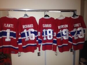 chandail LNH Montreal Canadiens hockey NHL jersey Henri Richard