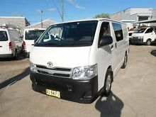 2010 Toyota Hiace KDH201R MY11 Upgrade LWB White 4 Speed Automatic Van Clyde Parramatta Area Preview
