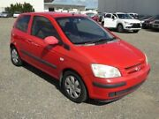 2005 Hyundai Getz TB GL Red 4 Speed Automatic Hatchback Brendale Pine Rivers Area Preview