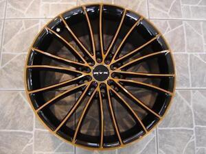 """Kit roues de mag avec pneus neufs 17"""" #M16"""