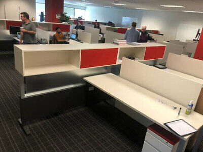 Used Office Cubicles Herman Miller Canvas 6x6.5 Cubicles