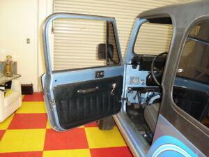 1981-1986 Jeep CJ7 & CJ8 PAIR Black Interior Door Panels