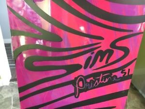 NEW Women's Sims Pristine 151cm Snowboard w/ Burton Bindings Peterborough Peterborough Area image 3