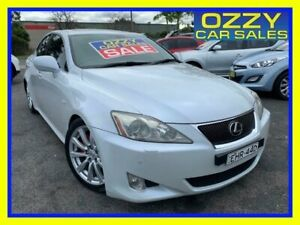 2006 Lexus IS250 GSE20R Sports Luxury 6 Speed Auto Sequential Sedan Minto Campbelltown Area Preview