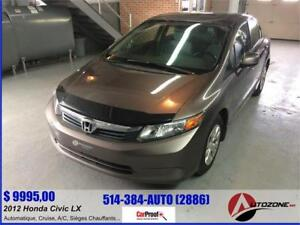 2012 Honda Civic LX/BLUETOOTH/AUTOMATIQUE/GROUPE ELECTRIQUE/AC