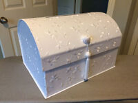 BRAND NEW - White Wedding Card Box - REDUCED TO $40