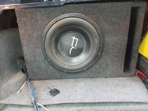 "Brand New 12"" FI Audio Competition Sub w/ JL Audio Amplifier"