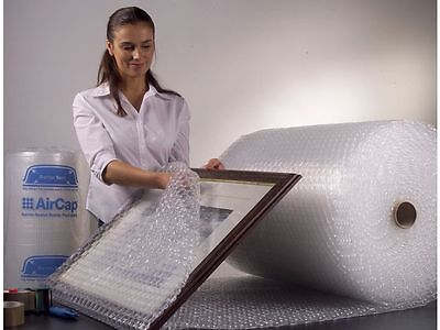 2 x 600mm x 100m EL Sealed Air AirCap Small Bubble Wrap Free Next Day Delivery