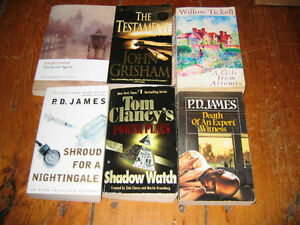 Various paperback books for sale- from 10 cents!