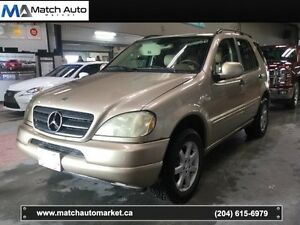 *Safetied* 2001 Mercedes-Benz ML430 * Leather * Heated Seats *