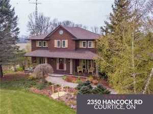 Welcome To 2350 Hancock Rd! This Incredible Custom
